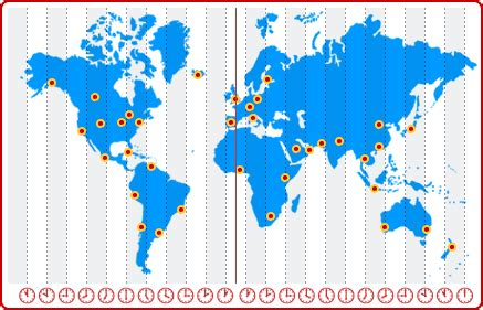 Canary Islands: Time Zone