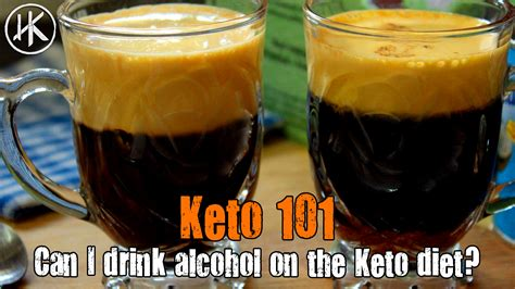 Keto Basics - Can I drink alcohol on the Keto diet