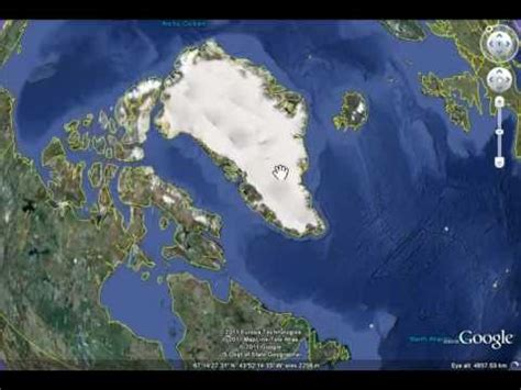 Missing Area at North Pole in Google Earth - YouTube