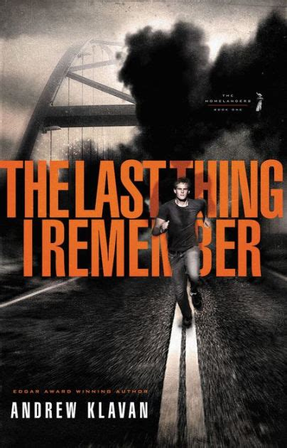 The Last Thing I Remember (The Homelanders Series #1) by