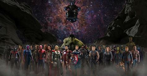 Number Of Marvel Characters In 'Avengers: Infinity War