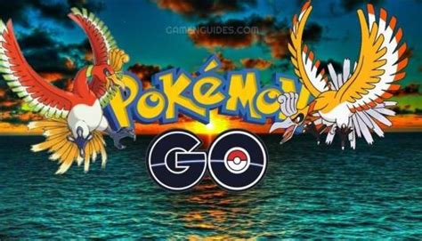 Pokemon GO Releases The Legendary Ho-Oh and Its Shiny Form