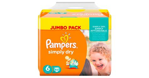 Pampers Simply Dry Windeln Gr
