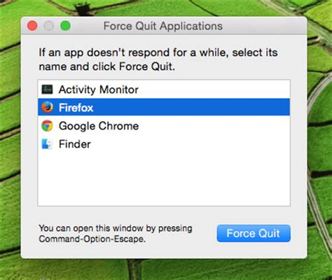 How To Force Quit Mac Apps In Mac OS X [Simple Walkthrough]
