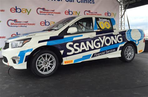 Ssangyong Korando Sports pick-up to go racing in Britain