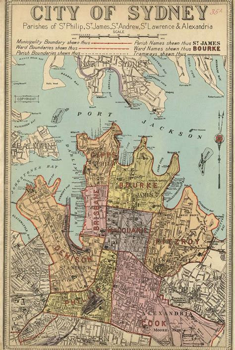 Atlas of the Suburbs of Sydney | The Dictionary of Sydney