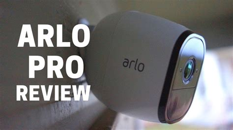Arlo Pro Review: Outdoor WiFi Security Camera - YouTube
