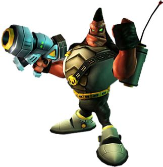 Blargs - Characters - Ratchet & Clank - PS2 - Ratchet Galaxy